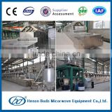 Industrial chemical powder microwave drying machine