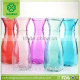 Fancy Colorful 1L glass milk bottle,glass bottle
