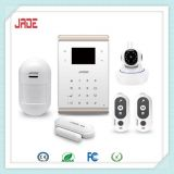 JADE GP11 GSM WiFi SMS zigbee LoRa Alarm System matched IP camera,LCD display,APP control for house security usage