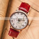 wholesale 2015 new luxury Leather strap world map watches men