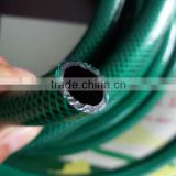PVC GARDEN HOSE GREEN AND BALCK COLOUR WITH PLASTIC FITINGS