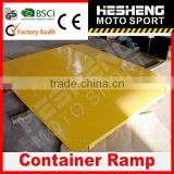 HESHENG 2014 HOT 8T Container Unload Ramp with CE approved