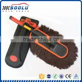 Multifunctional extendable dust cleaning tool microfiber duster for home car