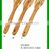 Custom 3 Piece Bamboo Kitchen Accessories Cooking Utensil Set