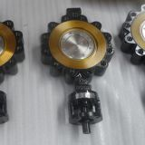 DIN Lug type triple offset Butterfly valve