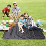Amazon Supplier Large 145x145cm Portable Family Picnic Mat Children Play Mat