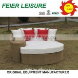 hot sell market lounger with shade