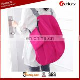 Super larger capacity foldable korean school bag