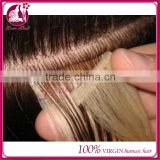 2015 new arrival 100% Brazilian virgin remy human hair tape hair extensions