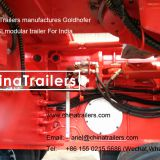 Hydraulic Multi Axle Goldhofer THP/SL Trailer for India