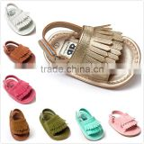 Baby sandals rubber sole fashion sandal 2016 PU children shoes sandals M6060601
