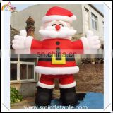 Christmas giant inflatable santa claus, standing inflatable smile santa decor from china manufacturer