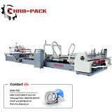 HRB  hot sale automatic carton box folder gluer machine