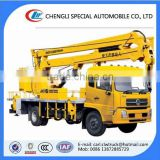 Dongfeng 22m aerial platform truck