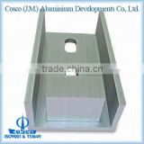 Aluminium Extruded Industrial Connection Part with Machining and Anodizing