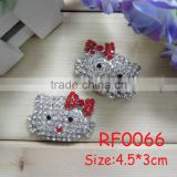 RF0066 Decorative rhinestone shoe clips for flip flops