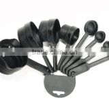 8pcs plastic measuring spoons