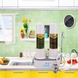 Water purifier on double drum platform