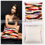 YRFUR YR037 New Arrival Multi color Shearling Patchwork Fur Pillows/Sexy Fashion Custom order Pillow Cover