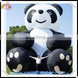 Commercial inflatable panda, inflatable animal replica, advertising inflatable outdor decor
