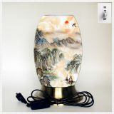 Qin Yuan art desk lamp, desk lamp of custom, creative desk lamp, decoration lamp, LED lamp (Da026)