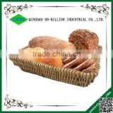 Wholesale cheap wicker rectangular woven bread basket for sale