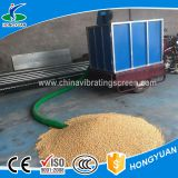 Small and with soft tube worm screw conveyor for granule
