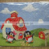 sublimation heat press trasfer printing puzzle