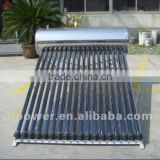 Stainless steel SUS304 pressuried-heated solar water heater 300 liters