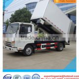 hot sale low price Euro4 JAC 2 tons clinical waste garbage transfer truck