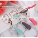 L00073 2017 high quality beauty roll warped eyelash curler/ silica gel eyelash curler