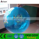 Promotional clear PVC inflatable beach ball small PVC cheap water ball