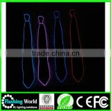 High quality numerous in variety el wire light-up necktie