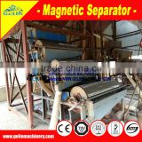 Best ability dry type iron mine magnetic separator machine