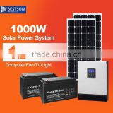 BESTSUN Output 1kw Solar panel power system 1000W Solar Power System for home