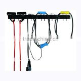 S6226 steel wall mounting jump rope rack with 6 hooks