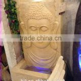 India water fountain sandstone decoration wall buddha fountain