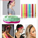 Western style New fashion Yoga sport candy color Double row skid resistance headband