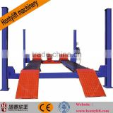 China supplier offer CE used 4 post car lift for sale hydraulic car lift for service station ce