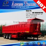 3 or 2 axle tipping cargo box semi trailer with air suspension (size& platform optional)
