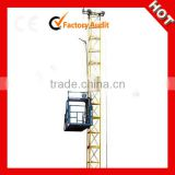 Hot Sale SS120 Single Cage Electric Building Lift