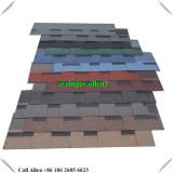 Laminated type Colorful Fiberglass asphalt shingle roof tile
