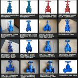 ANSI 150 / DIN 3352 / BS5163 Gate Valves, Flanged Ends / Socket Ends / Threaded Ends