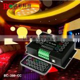 BC-380-8A DC5V-36V programmable infrared remote rgb controller for rgb strip led module controller