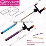 Wireless Monopod selfie stick for phones digital cameras