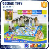 Fashion design play mat snake and ladder board game