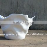 AAR New design fiberglass planter, fiberglass pot, FRP flower pot