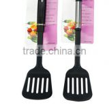 Nylon slotted spatula plastic skimmer cookwares and kitchenwares