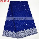 African dry lace fabrics High Quality cotton dry lace fabric for women swiss voile in switzerland