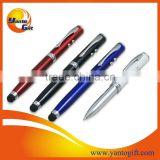 High quality LED metal stylus pen for smart phone